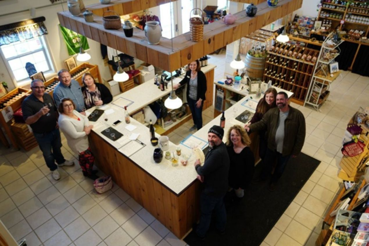 Photo for: The Consensus Lake Winery that rakes in medals