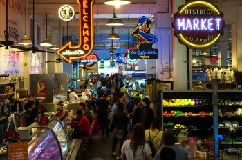 Photo for: The Great Outdoors: where to get a drink at LA food markets