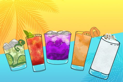 Photo for: Cachaça cocktails: Beat the heat with a tropical beat