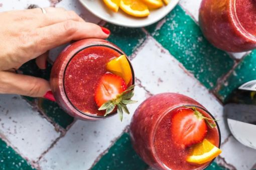 Photo for: Crush the heat with frozen wine cocktails