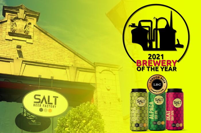 Photo for: Salt Beer Factory Wins Brewery of the Year