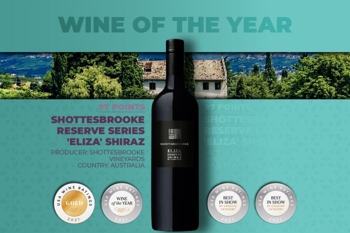 Photo for: Meet Shottesbrooke's 'Eliza' Shiraz, 2021's Wine of the Year